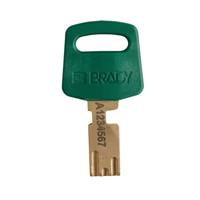 SafeKey nylon Sicherheits-vorhängeschloss grün 150273/ 150334