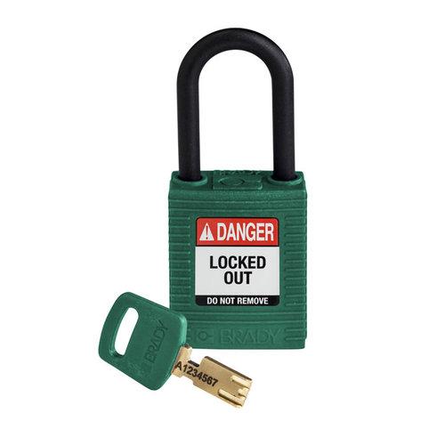 SafeKey nylon veiligheidshangslot groen 150273