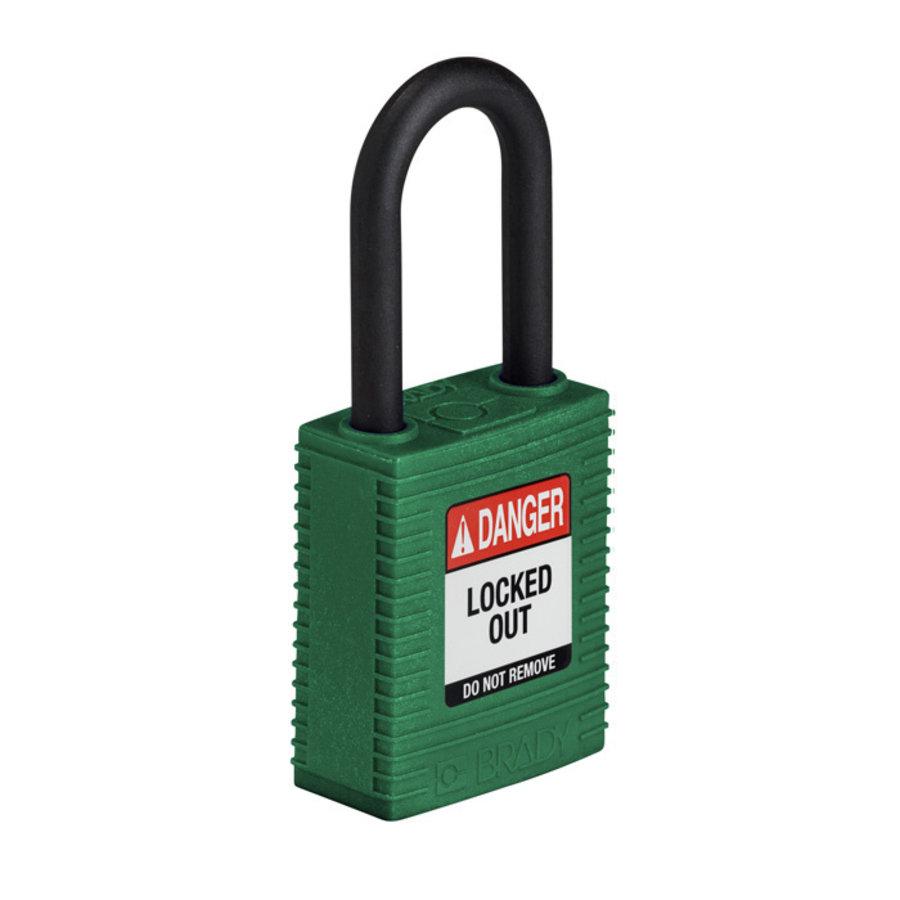 SafeKey nylon veiligheidshangslot groen 150273 / 150334