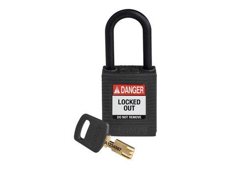 SafeKey nylon veiligheidshangslot zwart 150231