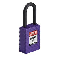 SafeKey nylon safety padlock purple 150272 / 150350