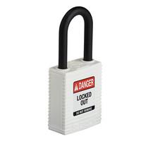 SafeKey nylon veiligheidshangslot wit  150365 / 150308