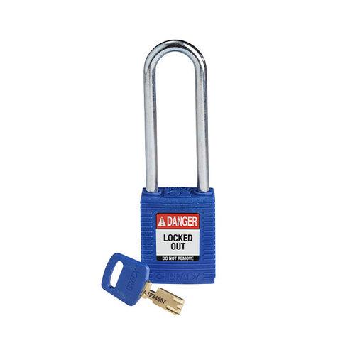 SafeKey nylon Sicherheits-vorhängeschloss blau 150249