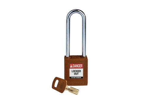 SafeKey nylon safety padlock brown 150247