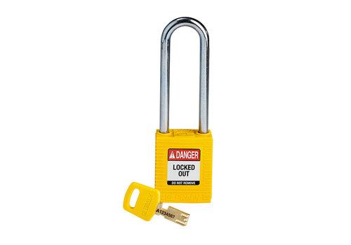 SafeKey nylon safety padlock yellow 150296