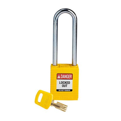 SafeKey nylon Sicherheits-vorhängeschloss gelb 150296