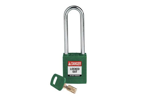 SafeKey nylon veiligheidshangslot groen 150319