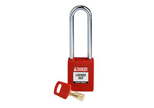 SafeKey nylon veiligheidshangslot rood 150357