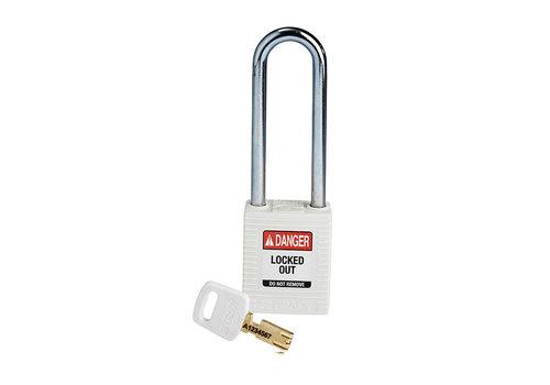SafeKey nylon Sicherheits-vorhängeschloss weiß 150295