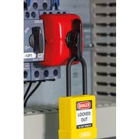 Motor circuit breaker lockout E245