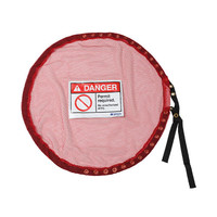 Lockable Mesh Cover, Confined Space