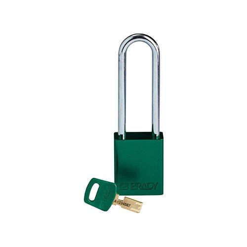 SafeKey Aluminium Sicherheits-vorhängeschloss Grün 150360