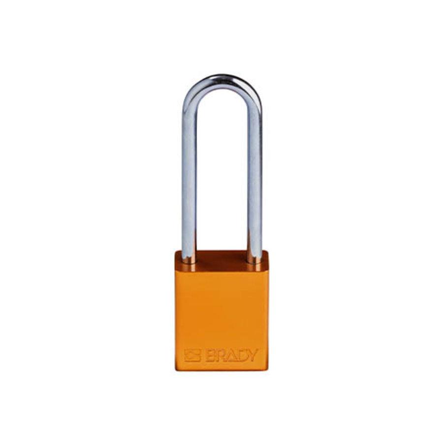 SafeKey aluminium veiligheidshangslot oranje 150306
