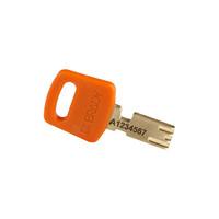 SafeKey Aluminium Sicherheits-vorhängeschloss Orange 150306