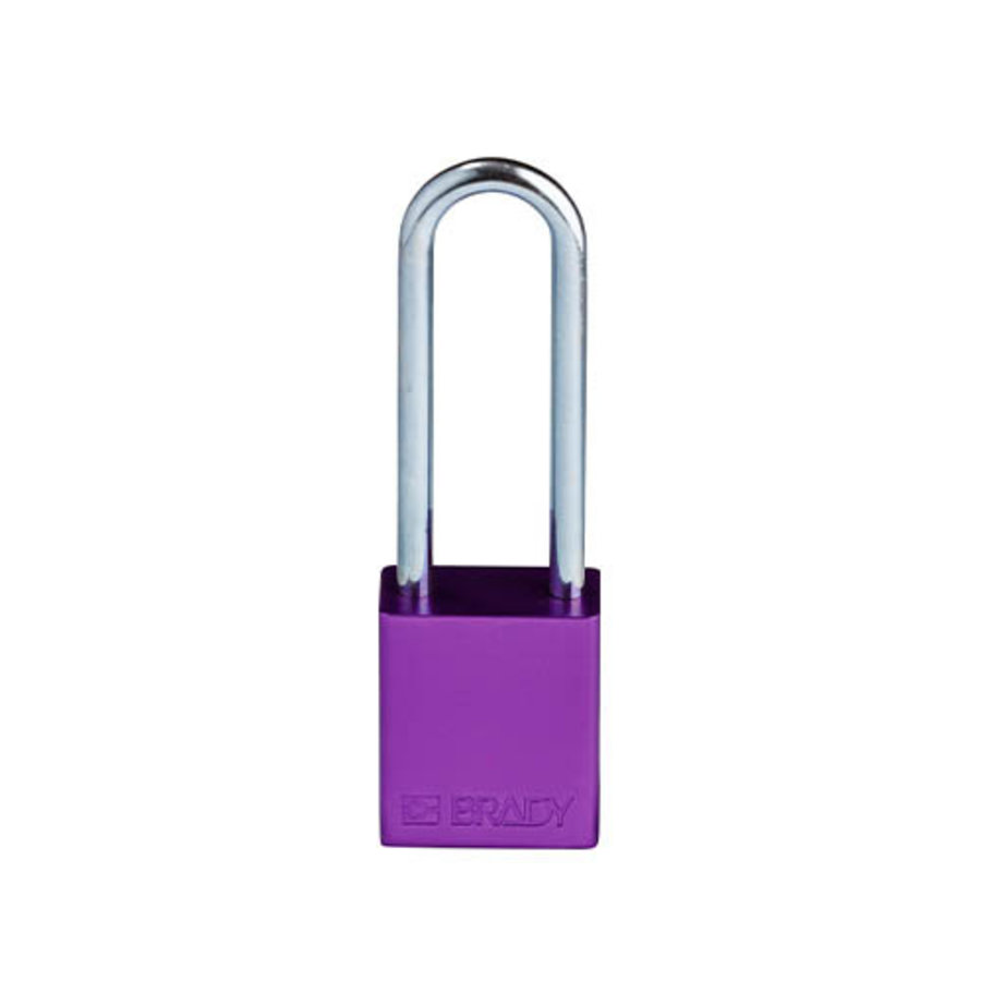 SafeKey aluminium veiligheidshangslot paars 150330