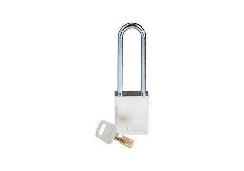 SafeKey aluminium veiligheidshangslot zilver 150283