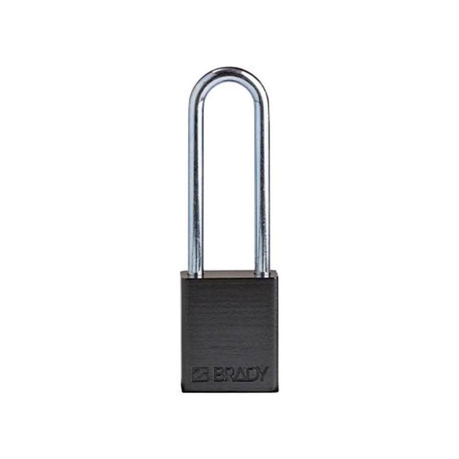 SafeKey Aluminium safety padlock  black 150331