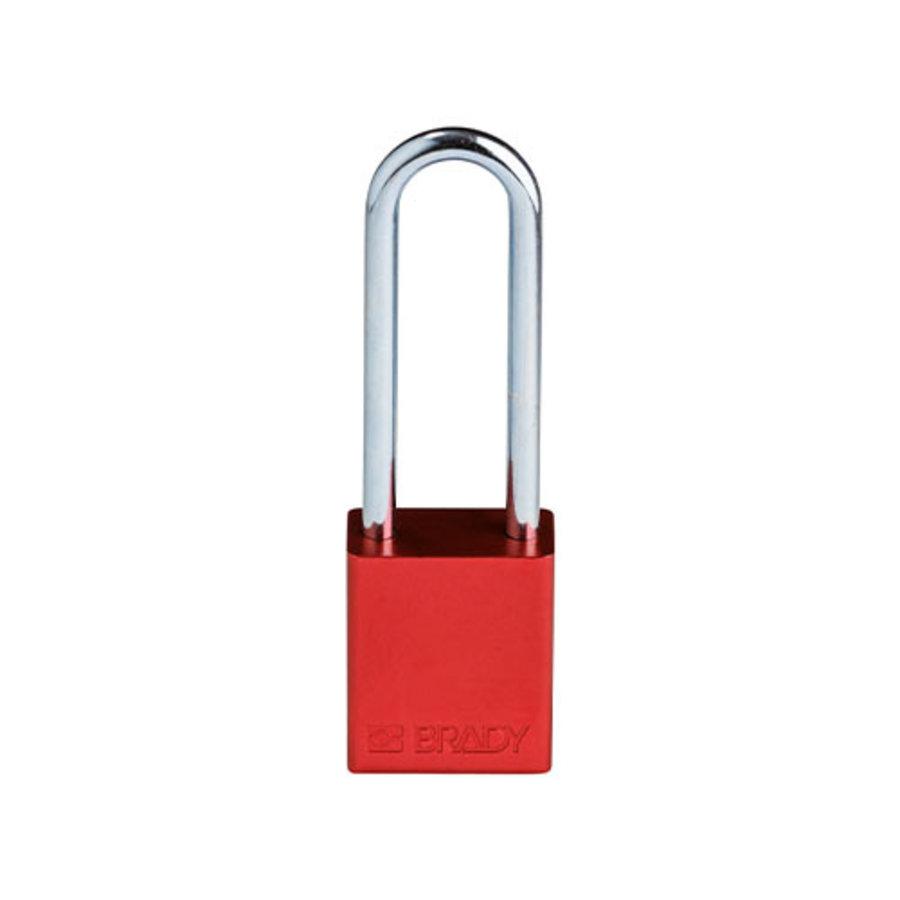 SafeKey aluminium veiligheidshangslot rood 150332