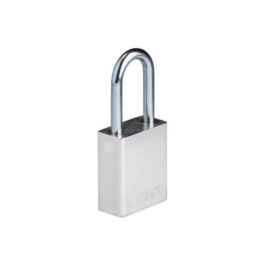 SafeKey aluminium veiligheidshangslot zilver 150242
