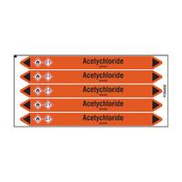 Leidingmerkers: Acetychloride | Nederlands | Zuren