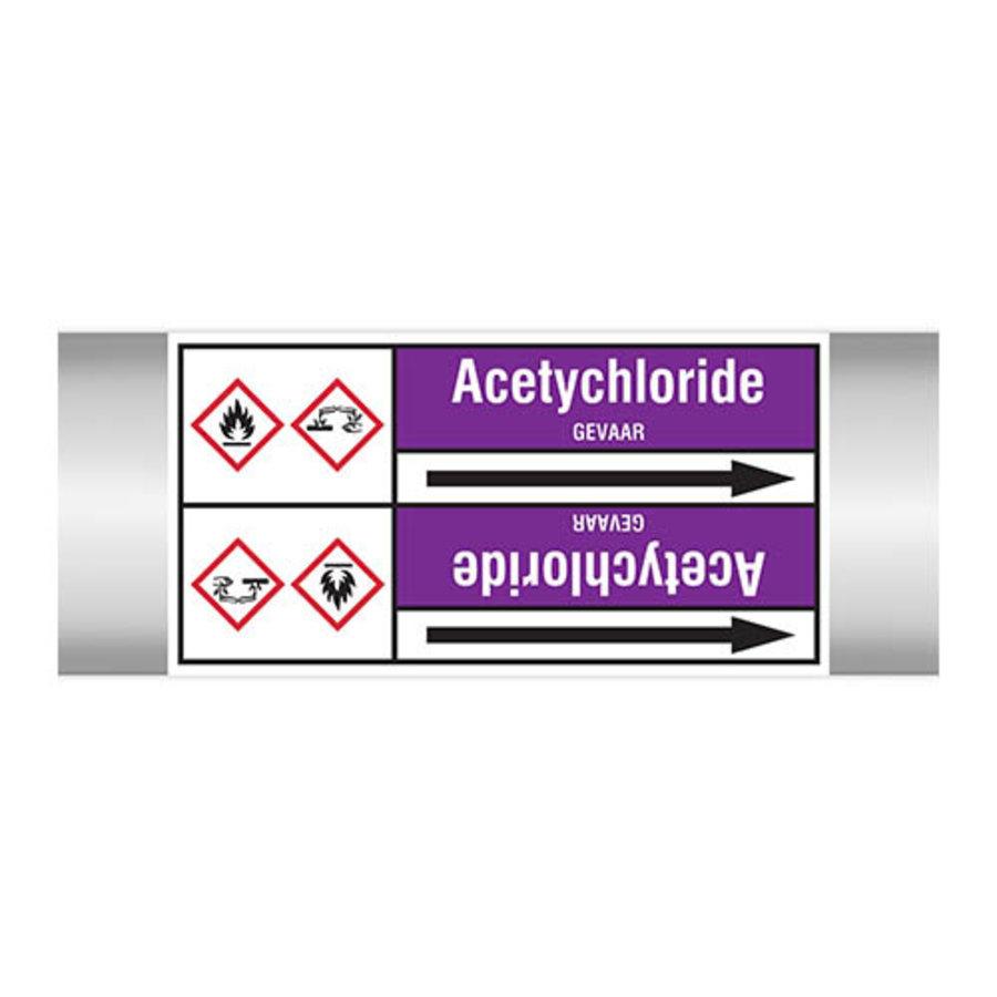 Leidingmerkers: Acetychloride | Nederlands | Zuren en basen