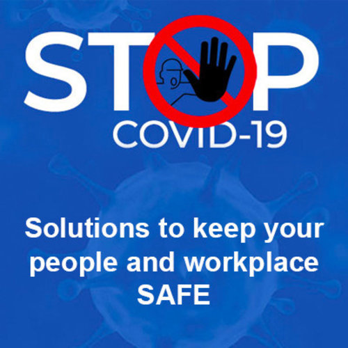 COVID-19 veiligheidsoplossingen van Brady