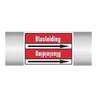Leidingmerkers: Blusleiding | Nederlands