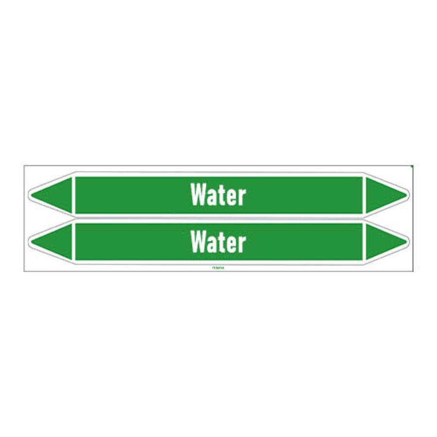 Rohrmarkierer: Gekoeld water   Niederländisch   Wasser