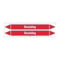 Leidingmerkers: Bluswater | Nederlands | Blusleiding