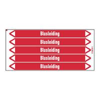 Rohrmarkierer: Bluswater   Niederländisch   Blusleiding