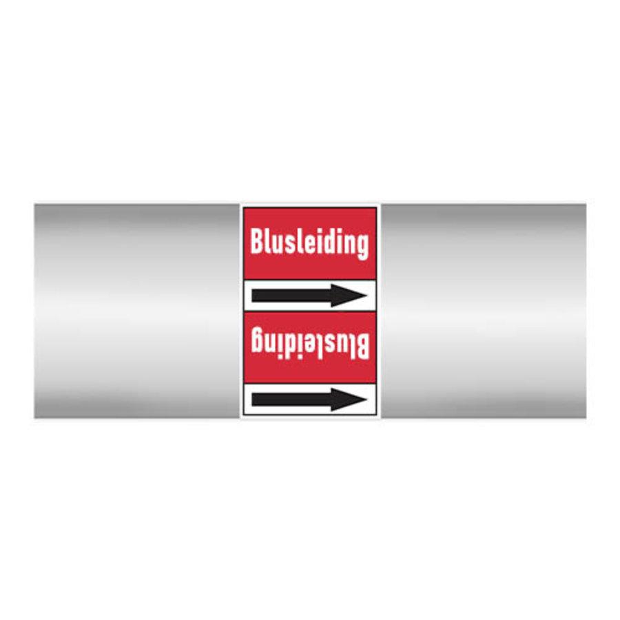 Leidingmerkers: Brandbluskoolzuur | Nederlands | Blusleiding