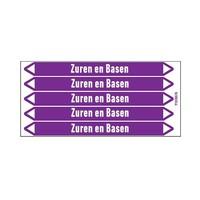 Leidingmerkers: Afvalzuur | Nederlands | Zuren en basen