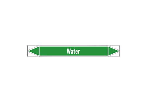 Leidingmerkers:  Sanitair warm water | Nederlands | Water