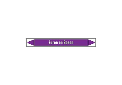 Leidingmerkers: Afvoer (zuur) | Nederlands | Zuren en basen