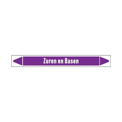 Rohrmarkierer: Geregeneerd zuur  | Niederländisch | Säuren und Laugen
