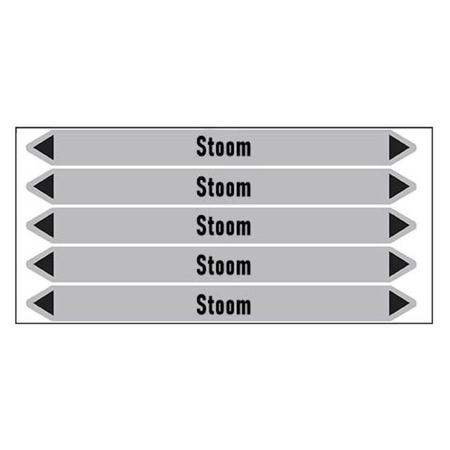 Leidingmerkers: stoom 0,5 bar | Nederlands | Stoom