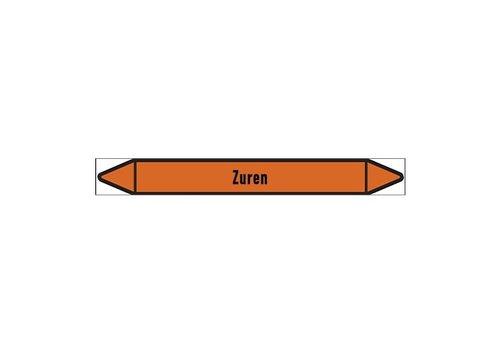 Leidingmerkers: Afvoer (zuur) | Nederlands | Zuren