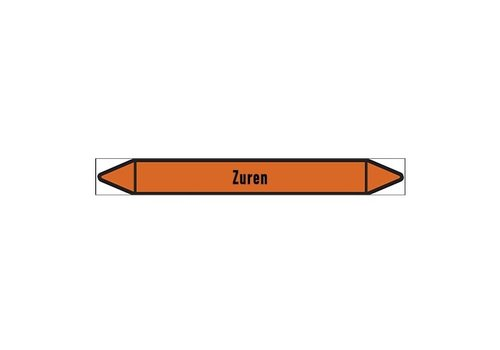 Leidingmerkers: Zure oplossing | Nederlands | Zuren