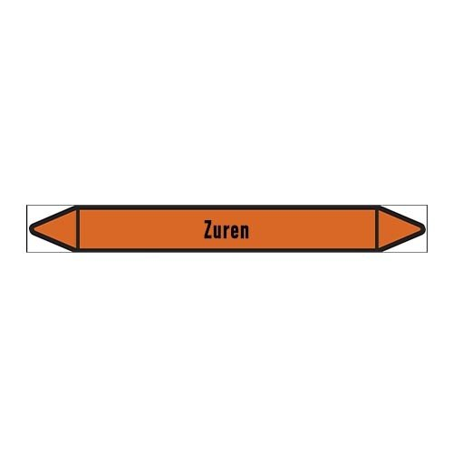 Leidingmerkers: Vers zuur | Nederlands | Zuren