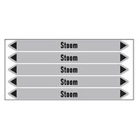 Pipe markers: stoom 12 bar | Dutch | Steam