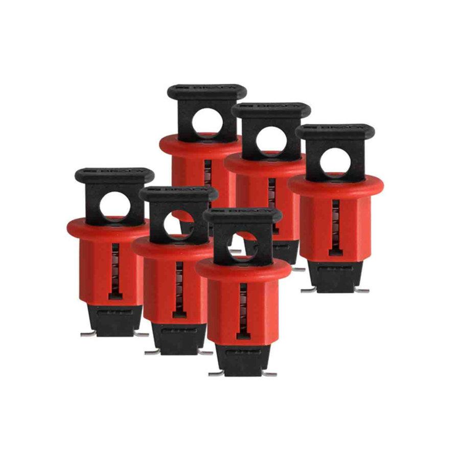Miniatuurvergrendeling voor stroomonderbrekers(Pin-Out Standard) 090844, 090845