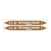 Leidingmerkers: Methylethylketon | Nederlands | Ontvlambare vloeistoffen