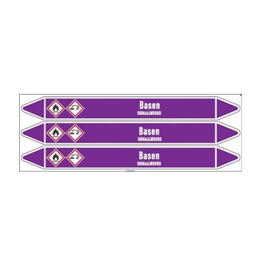 Leidingmerkers: Fenol | Nederlands | Basen