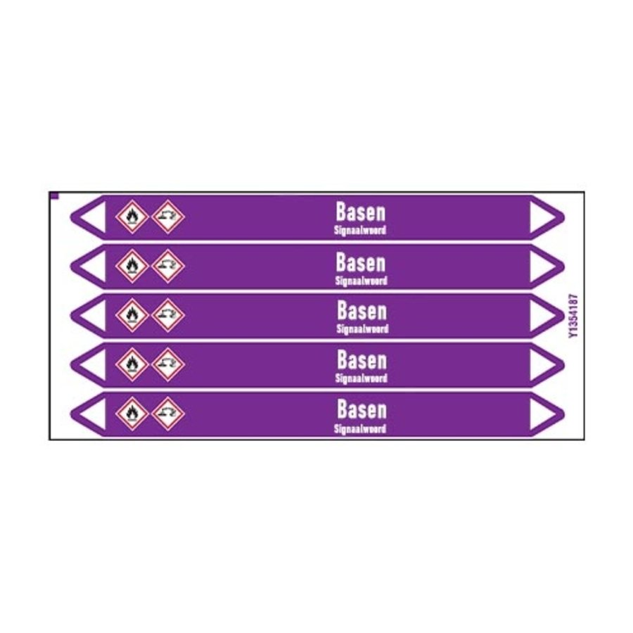 Leidingmerkers: Glycol | Nederlands | Basen