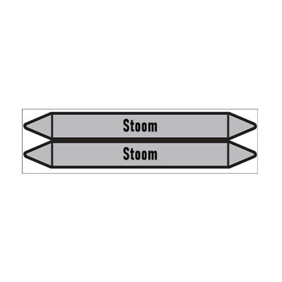 Pipe markers: stoom 5,5 bar   Dutch   Steam