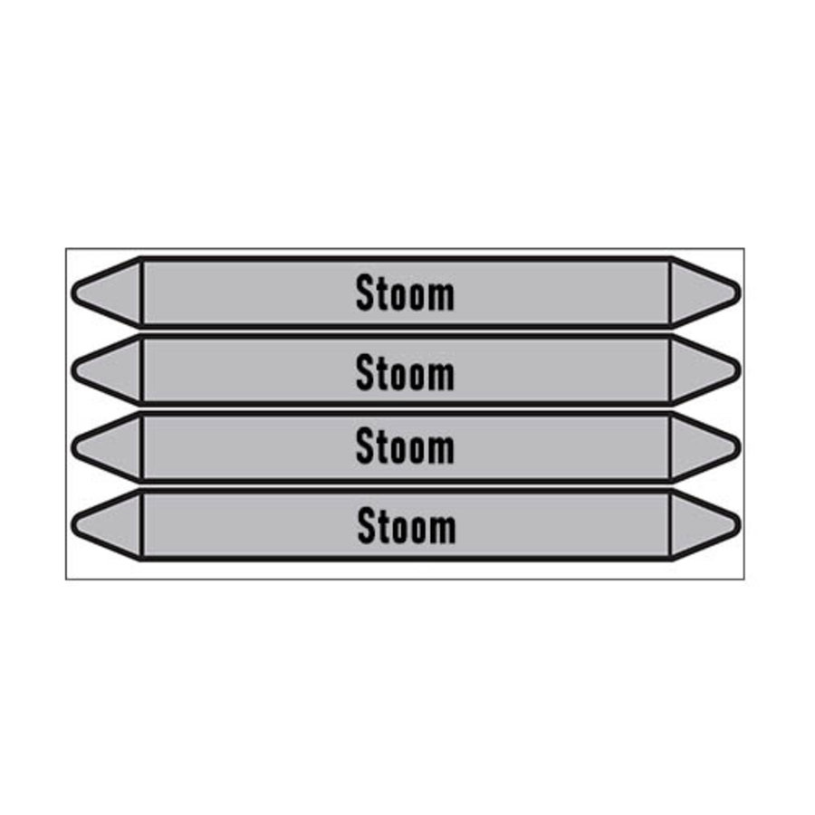 Leidingmerkers: stoom 5,5 bar   Nederlands   Stoom