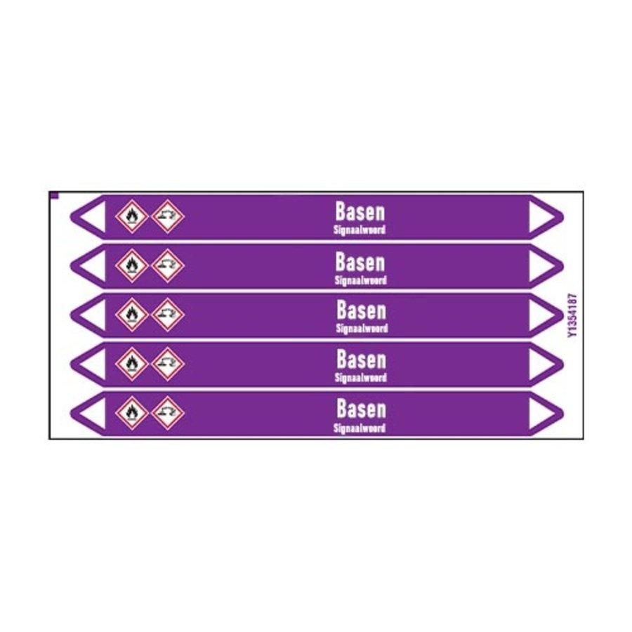 Leidingmerkers: Kaliumhydroxide | Nederlands | Basen