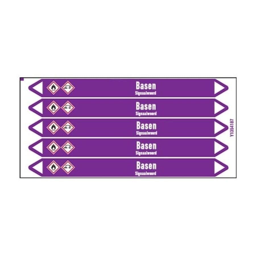 Leidingmerkers: NaOH | Nederlands | Basen