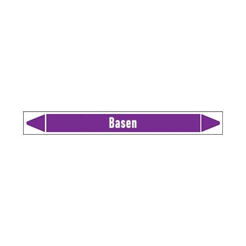 Pipe markers: Base   Dutch   Alkalis