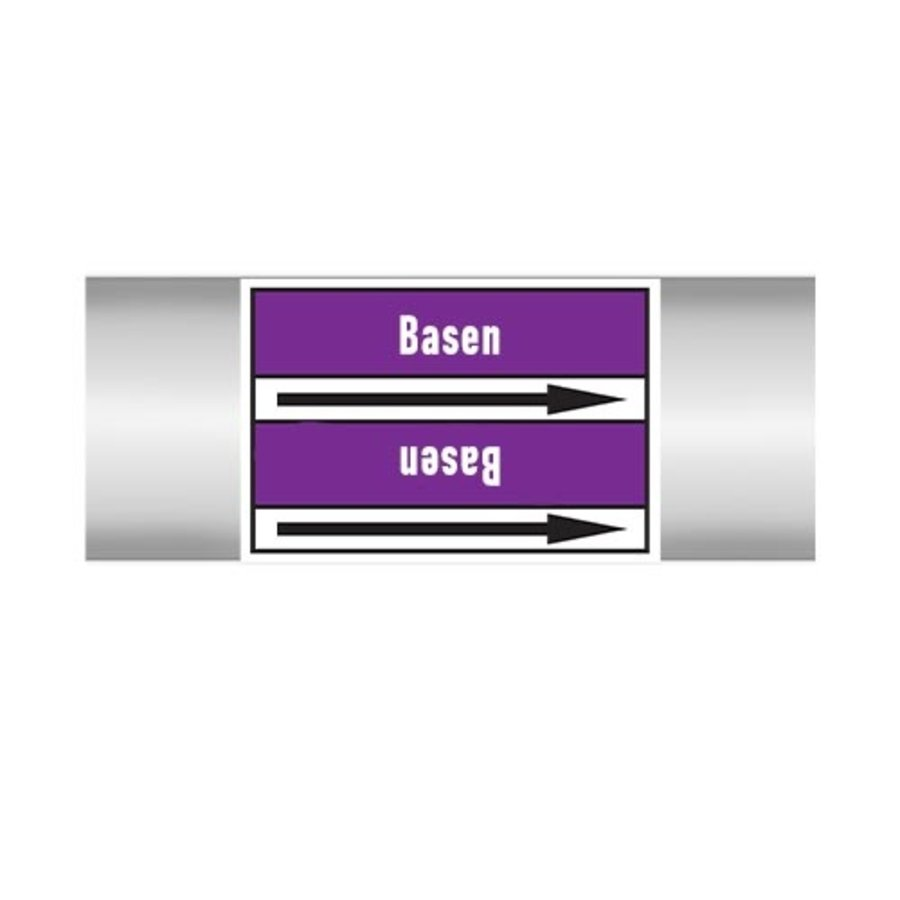 Leidingmerkers: Base | Nederlands | Basen